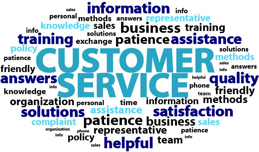 customer service work